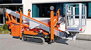 Multitel SHX190 Track/Spider Mounted Telescopic Access Platform
